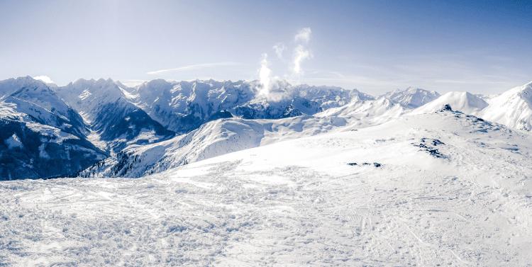 Ski Winterlandschaft